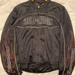 Harley-Davidson Man's Mesh Riding Jacket